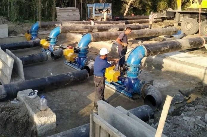 В Андижанской области готовится к запуску новая микро ГЭС