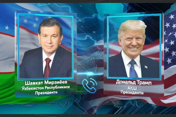 Donald Trump invites Shavkat Mirziyoyev to pay official visit to US