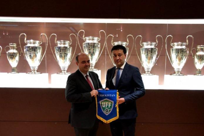 Uzbekistan set to open Real Madrid football school