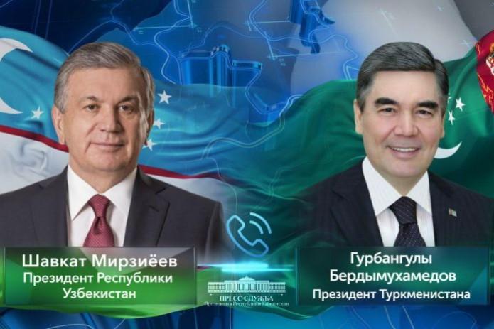 Шавкат Мирзиёев поздравил Гурбангулы Бердымухамедова с днем его рождения