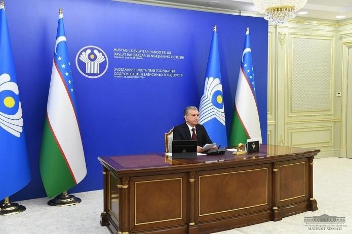 Шавкат Мирзиёев: Узбекистан выступает за скорейшее возобновление авиасообщения между странами СНГ