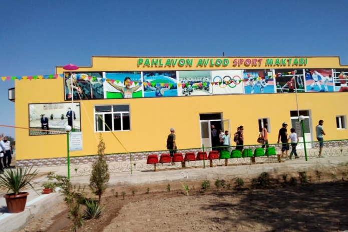 В Хиве открылся современный спортивный комплекс