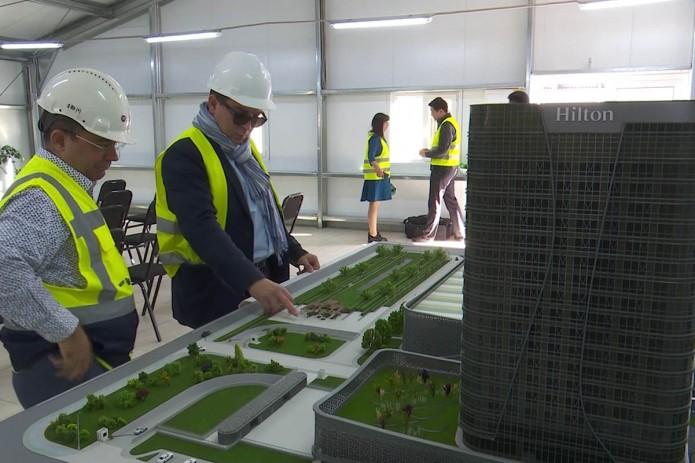 Представитель архитектурного бюро Захи Хадид посетил Tashkent City (Видео)