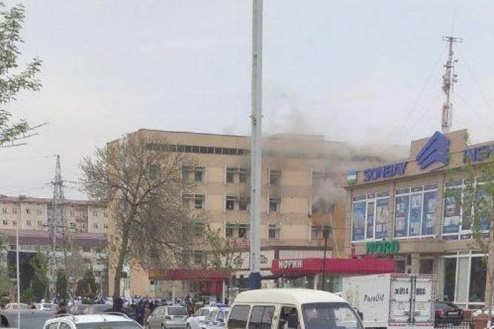 В центральной поликлинике Андижана, находящейся на карантине, произошел пожар