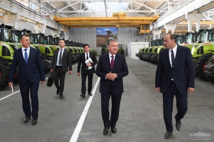 В Узбекистане создаются пять машиностроительных предприятий