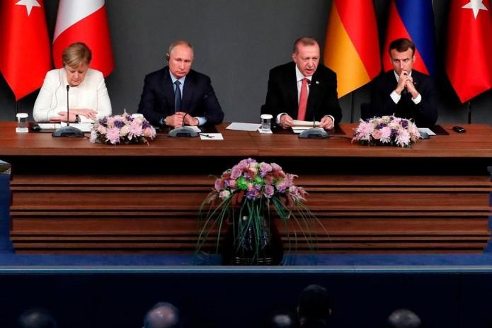 В Стамбуле состоялась четырехсторонняя встреча по Сирии (Видео)
