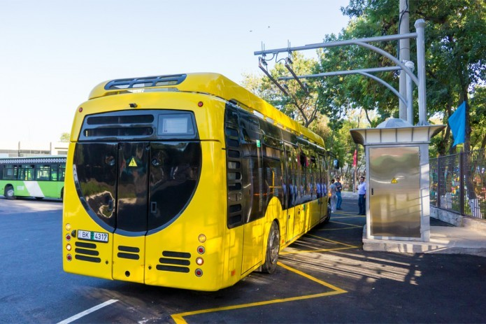 Tashkent to increase number of electric buses