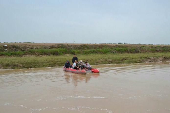 Ликвидация наводнения в Сырдарьинской области продолжается