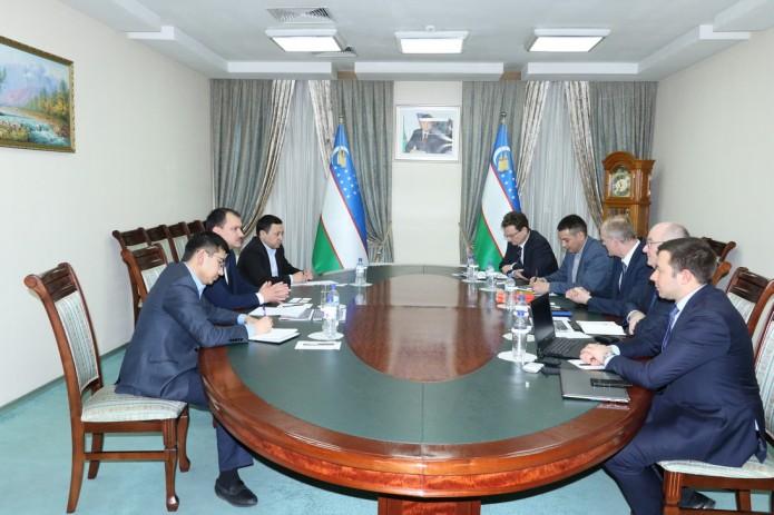 Немецкая Detecon выразила готовность в реализации инвестпроектов в Узбекистане