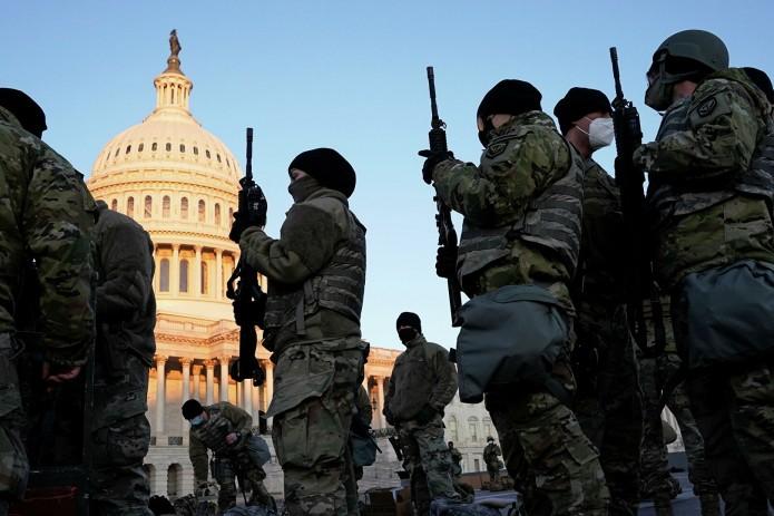 Подготовка к инаугурации: США мобилизовали военнослужащих нацгвардии