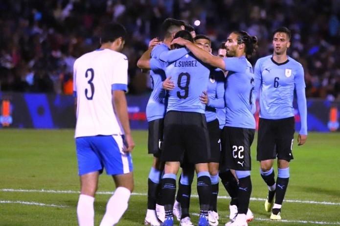 Friendly match: Uzbekistan 0-3 Uruguay