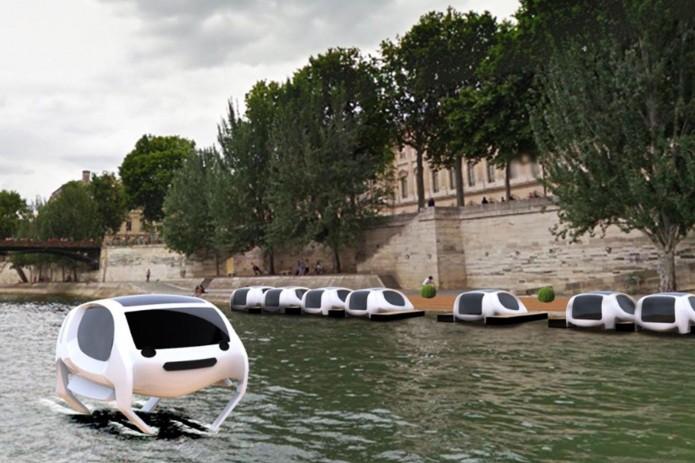 В Париже планируют запустить речное такси