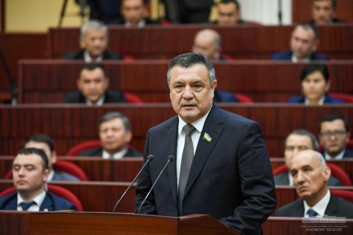 Нурдинжон Исмаилов избран Спикером Законодательной палаты Олий Мажлиса