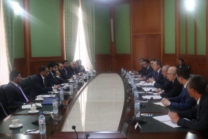 Глава МИД Абдулазиз Камилов принял делегацию Катара