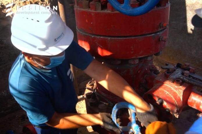 EPSILON: Суточный дебит скважины Чигил-8 составил 80 тыс. куб. м газа