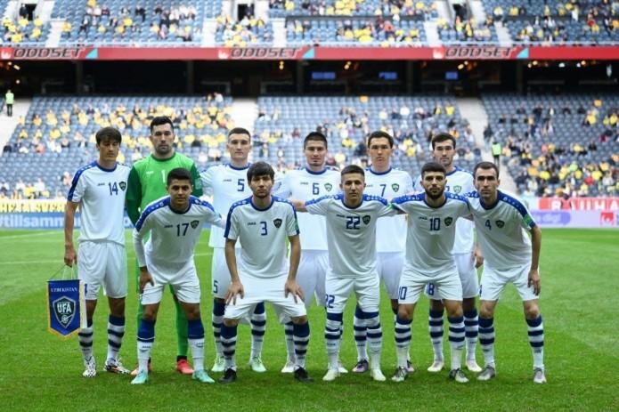 Сборная Узбекистана по футболу заняла 84-е место в рейтинге ФИФА