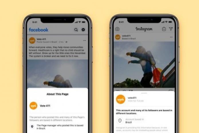 Facebook и Instagram будут показывать, в каких странах находятся авторы постов