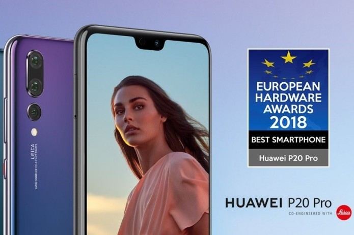 Huawei P20 Pro named best smartphone of 2018