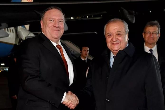 Госсекретарь США Майкл Помпео прибыл в Узбекистан