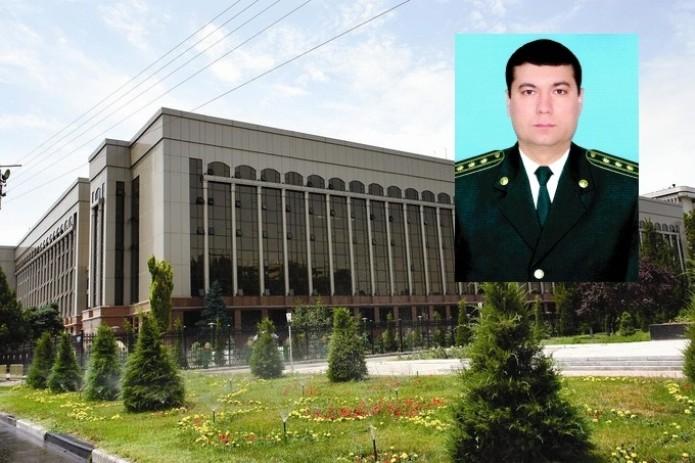 Шахрух Гиясов назначен пресс-секретарем Министра внутренних дел