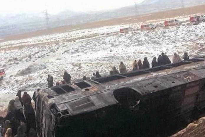 В Пакистане произошло ДТП, погибли все пассажиры автобуса
