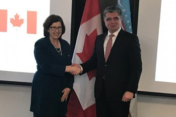 Узбекистан и Канада провели межмидовские политические консультации