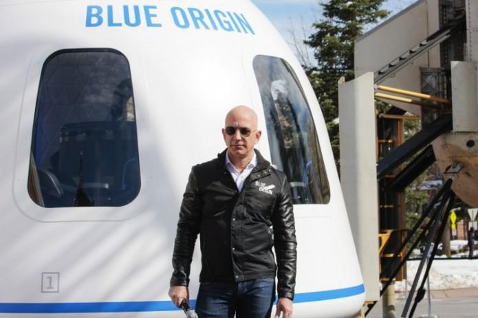 Основатель корпорации Amazon Джефф Безос отправится в космос