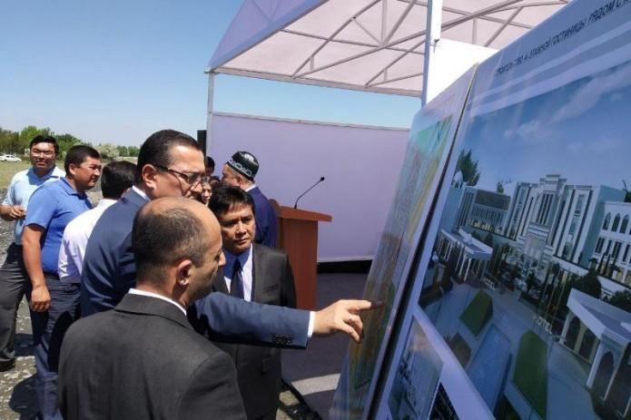 В Самарканде начали строить первую гостиницу по стандарту халяль