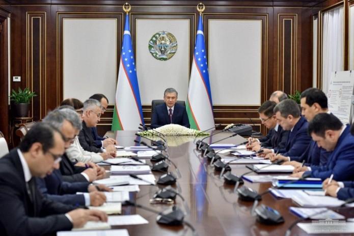 Президент Шавкат Мирзиёев обозначил основные задачи в химической промышленности