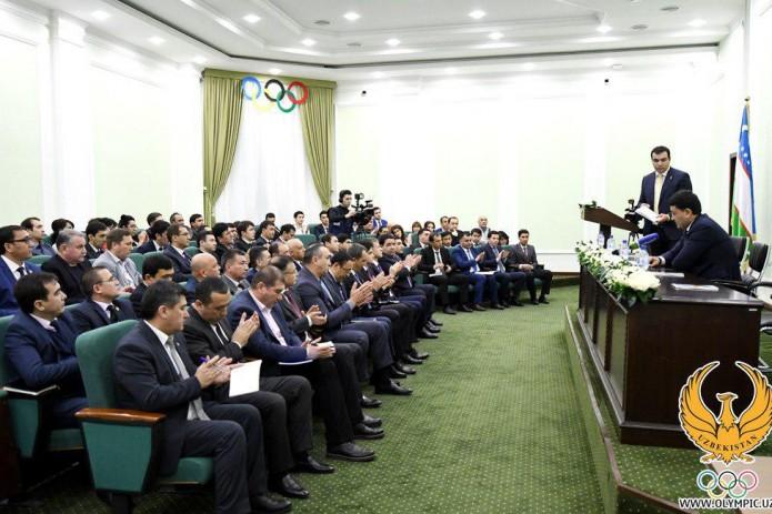 Избраны новые вице-президенты Национального олимпийского комитета