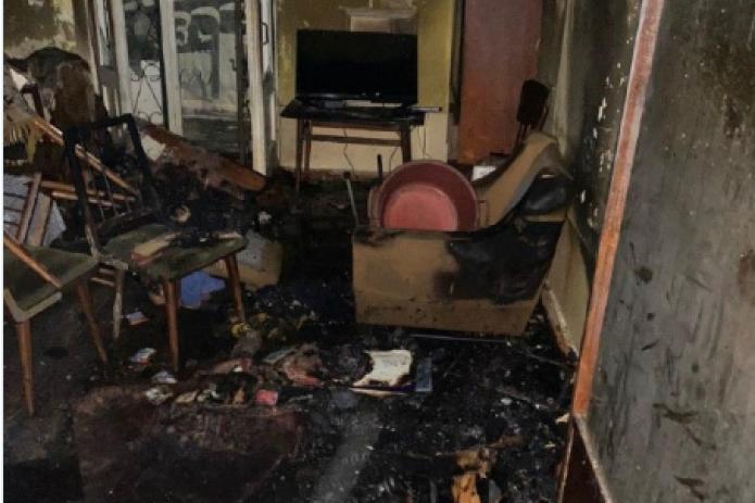 В Ташкенте пожар унес жизнь человека