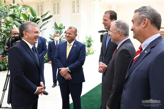 Шавкат Мирзиёев принял делегацию Палаты представителей Конгресса США