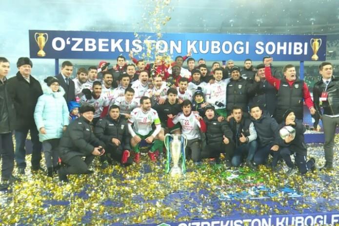 Ташкентский «Локомотив» одержал победу Кубок Узбекистана