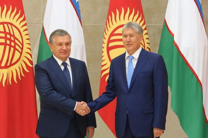 Между Узбекистаном и Кыргызстаном подписан ряд важных документов