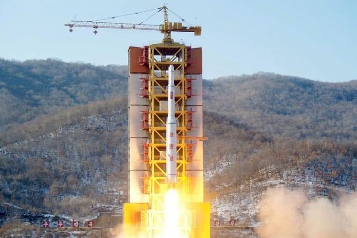 КНДР осуществила очередной запуск ракет
