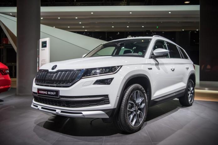Škoda озвучила новые цены на кроссовер Kodiaq в Узбекистане