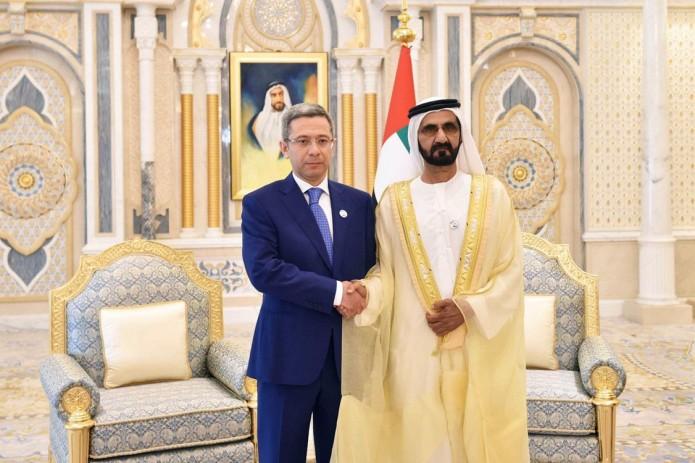 Посол Узбекистана вручил верительные грамоты Вице-президенту ОАЭ