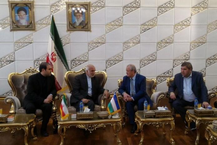 ВИране побывала делегация МИД Узбекистана