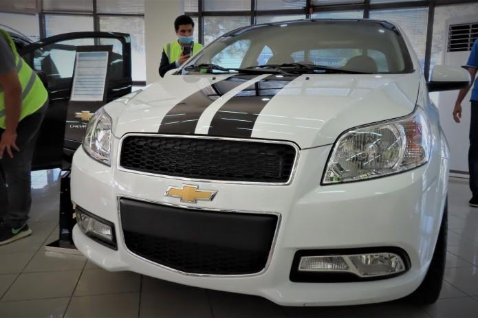 UzAuto Motors дополнил автомобили Chevrolet тюнингом кузова и салона