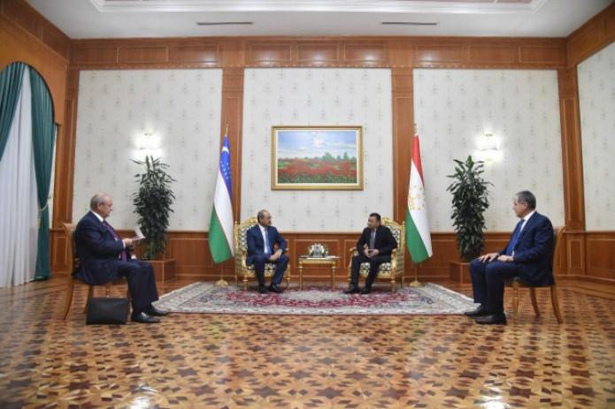 Премьер-министры Узбекистана и Таджикистана встретились в Душанбе