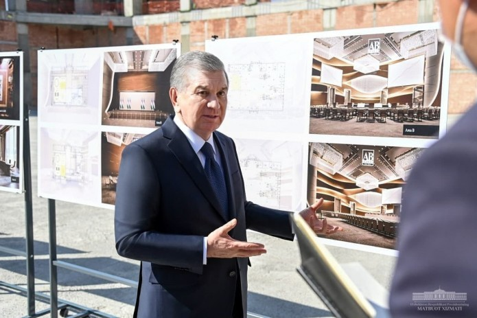 New center in Samarkand aims to become tourist hub