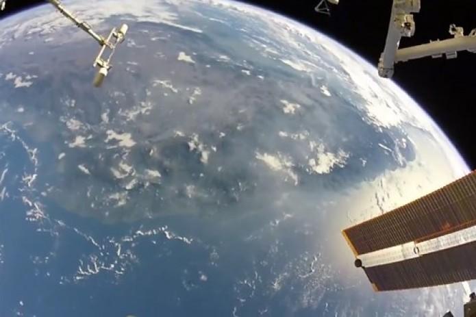 Астронавт NASA обнародовал кадры изоткрытого космоса