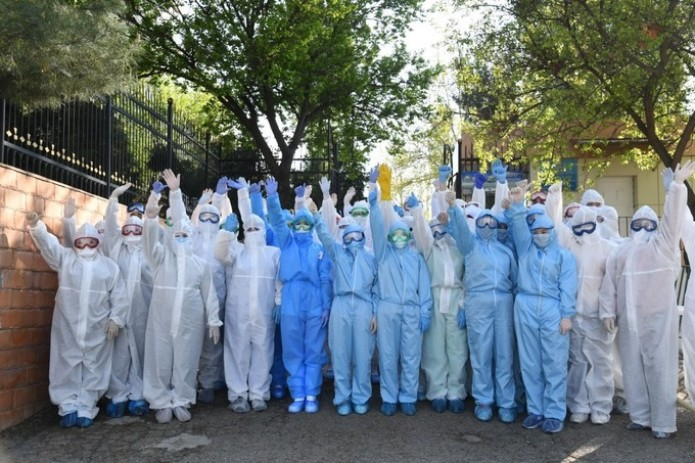 В Узбекистане установлен рекорд: 192 пациента вылечились от коронавируса за день