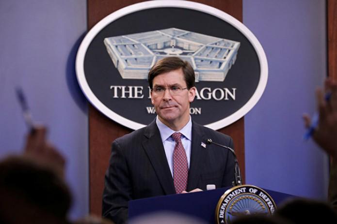 Глава Пентагона отменил визит в Узбекистан из-за коронавируса
