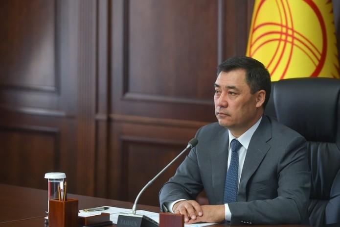 Садыр Жапаров побеждает на президентских выборах в Кыргызстане