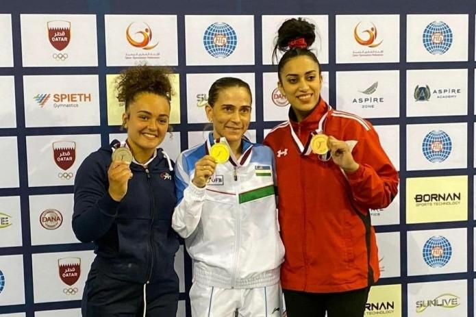 Оксана Чусовитина завоевала золотую медаль на Кубке мира