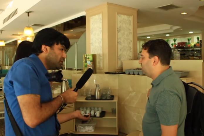 Human Rights Watch осудила «наезд» узбекского блогера на представителя организации