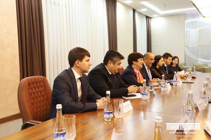 В Министерстве финансов прошла встреча с новым управляющим директором ЕБРР