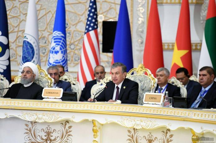 Шавкат Мирзиёев: Безопасность неделима, ее фундаментальной основой является доверие