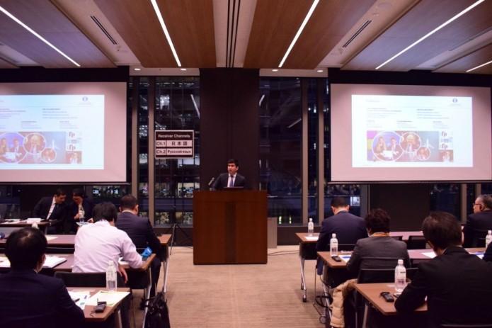 В Японии состоялась презентация деятельности Узпромстройбанка